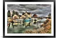 Crown and Anchor Tickton 2013, Framed Mounted Print