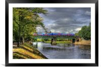 Scarborough Bridge, York, 2012, Framed Mounted Print