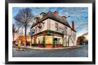 Dairycoates Inn 2014, Framed Mounted Print