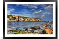Robin Hoods Bay 2011, Framed Mounted Print