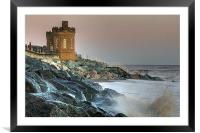Withernsea Storm, Framed Mounted Print
