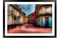 Trinity House Lane Hull, Framed Mounted Print