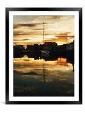 maritime bedtime, Framed Mounted Print
