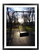 Lost Childhood, Framed Mounted Print
