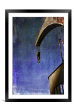The Steam Crane, Framed Mounted Print