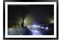 Ghost Light, Framed Mounted Print