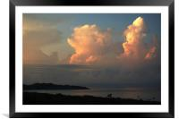 Morning Clouds, Framed Mounted Print
