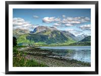 Ben Nevis, Scotland, Framed Mounted Print