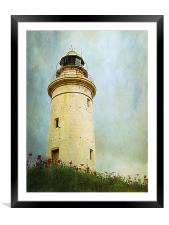 Paphos Lighthouse, Cyprus, Framed Mounted Print
