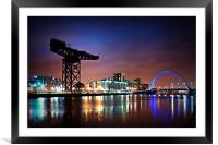 The Clyde Arc, Framed Mounted Print
