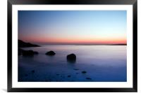 Shell Bay Beach, Framed Mounted Print
