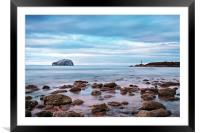 Bass Rock And The Beacon, Framed Mounted Print
