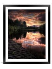 Loch Ard, Summer Dreams, Framed Mounted Print