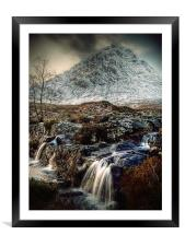 The Buachaille Etive Mor, Scotland, Framed Mounted Print