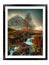 The Buachaille Etive Mor Scotland, Framed Mounted Print