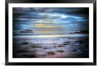 Bass Rock North Berwick, Framed Mounted Print