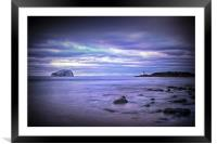 Bass Rock Scotland, Framed Mounted Print
