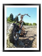 bike, Framed Mounted Print