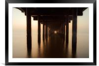 Southwold Pier Point, Framed Mounted Print