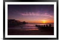 Into the Sun, Framed Mounted Print