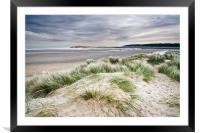 Holkham Sand Dunes, Framed Mounted Print