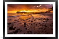 Cromer Pier, Framed Mounted Print