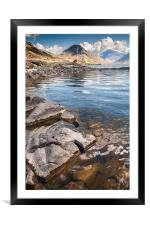 Wastwater, Framed Mounted Print