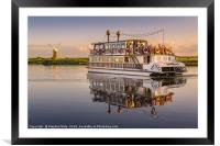 'Southern Comfort' Paddle Boat, Framed Mounted Print