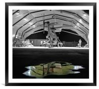 Hangar 18, Framed Mounted Print