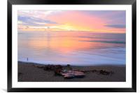 A peace of sea, Framed Mounted Print