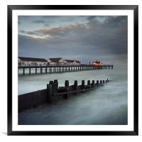 Southwold Pier, Framed Mounted Print