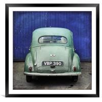 Morris Minor, Framed Mounted Print