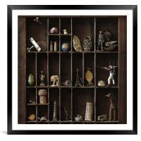 Memory Box, Framed Mounted Print