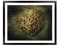 Old Heart, Framed Mounted Print