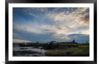 Medway Wrecks, Framed Mounted Print