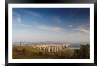 Medway Bridge II, Framed Mounted Print
