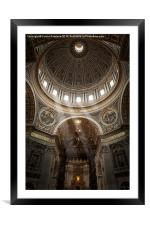 Sunlight in St Peters, Framed Mounted Print