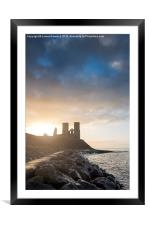Reculver Towers, Framed Mounted Print