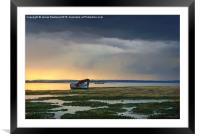 Approaching Rainstorm, Framed Mounted Print