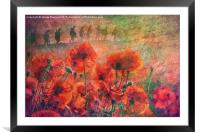 Remembrance, Framed Mounted Print