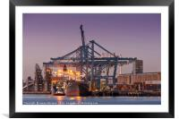 Trade & Industry, Framed Mounted Print