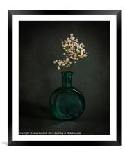 Quietly, Framed Mounted Print