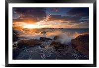 Reaching for the Light , Framed Mounted Print