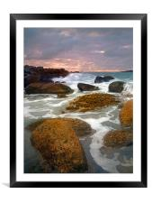 Just a bit of Light , Framed Mounted Print
