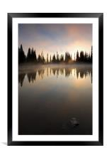 Breath of Sunrise! , Framed Mounted Print