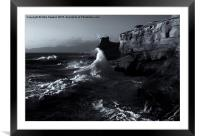 Reaching for the Top, Framed Mounted Print