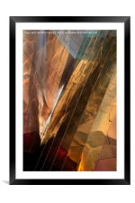 All that is Gold, Framed Mounted Print