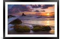 Golden Tides, Framed Mounted Print