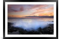 Tropical Explosion, Framed Mounted Print