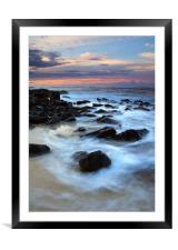 Koloa Sunrise, Framed Mounted Print